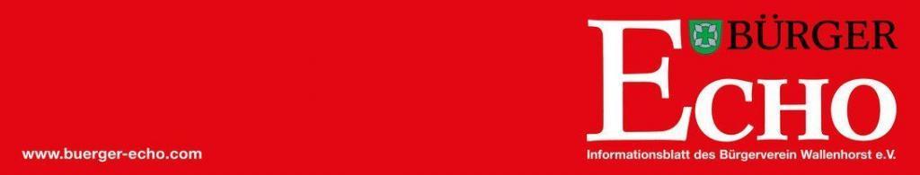 Bürger Echo Logo lang