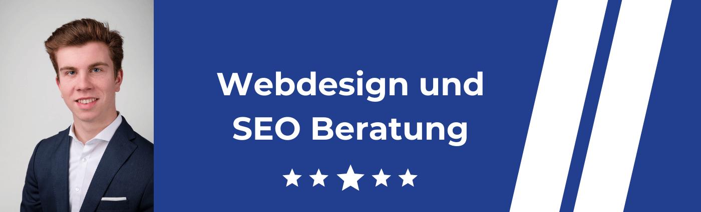SEO und Webdesign Beratung